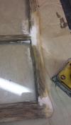 Window Body Filler Sanded