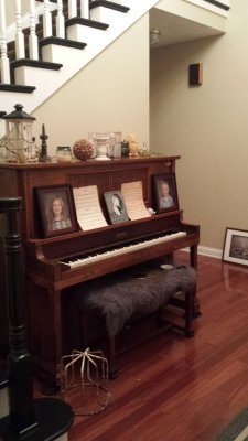 My amazing husband has moved this piano 4 times...