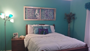 Bedroom: Finished!