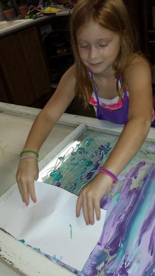 Spreading Paint