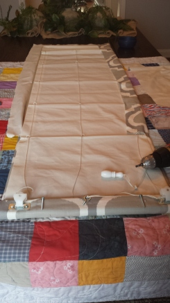 Reattach Eyelets/Rope