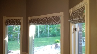 Roman Shades - After