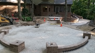 Retaining Wall - Fire Pit