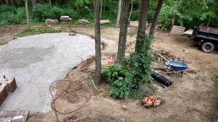 Fire Pit Prep